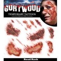 Временные татуировки для имитации различных повреждений