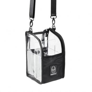 Прозрачная сумка для кистей