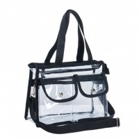 Маленькая прозрачная сумка для косметики