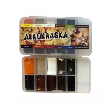 Палитра спиртовых красок Alkokraska