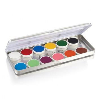 Палитра кремовых красок (6 и 12 цветов)