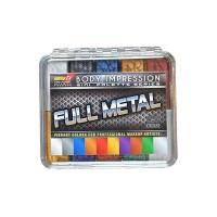 Палитра спиртовых красок Metalic