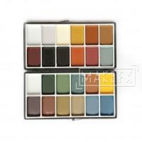 Палитра красок для кожи и силикона Sta-Color (22 цвета)