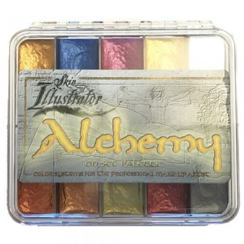 Палитра спиртовых красок Skin Illustrator Alchemy